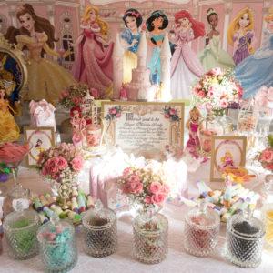 Princesses enfant événement décoration anniversaire