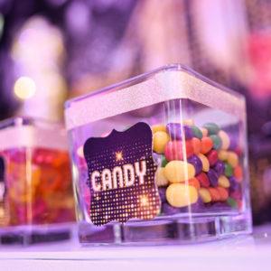 Candy bonbons pots enfant anniversaire
