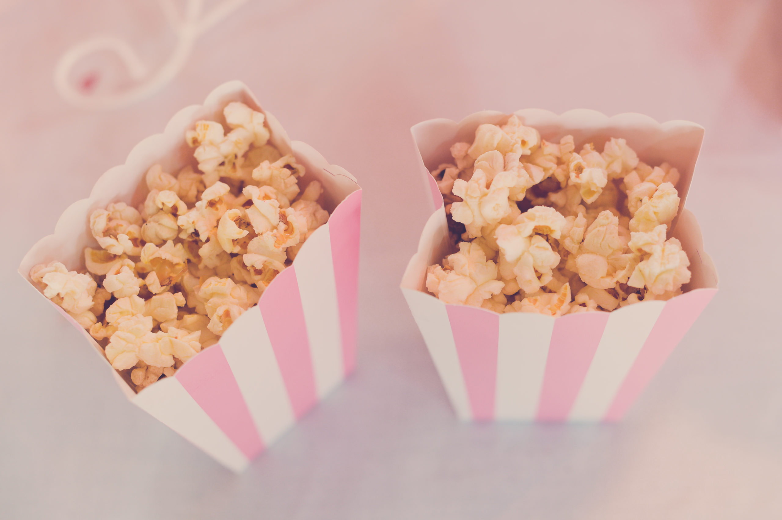 pop corn rose épuré enfant